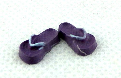Miniatura Per Casa Delle Bambole Estivi Da Mare Accessorio Bambini Infradito Sandali Scarpe