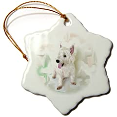 Dogs West Highland Terrier - Westie - Ornaments