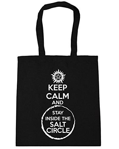 hippowarehouse-keep-calm-and-stay-inside-the-salt-circle-tote-shopping-gym-beach-bag-42cm-x38cm-10-l