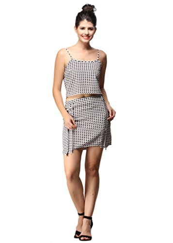 Chequered Effect Crop TopS