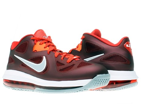 Nike Lebron 9 Low Mens Basketball Shoes 510811-600 Team Red 11.5 M US