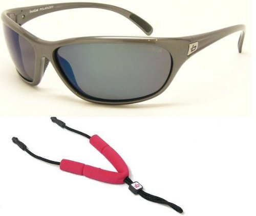f8b8c26a52 Bolle Marine Sunglasses Venom Plating Gunmetal Frame With Polarized Off  Shore Blue Lenses And Floating Neck Cord