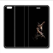 buy Iphone 6 6S Leather Case Pu Material Hard Shell Flip Credit Card Holder Magnetic Stand Video Game Logo Poster Pattern Character Screen Adventure Fighting-Tomb Raider Lara Croft 20