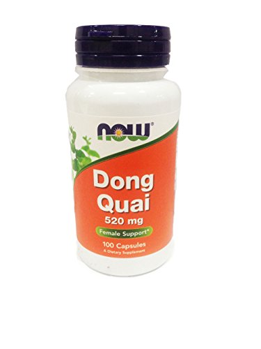 NOW Foods Dong Quai, 100 Capsules / 520mg (Pack of 3)