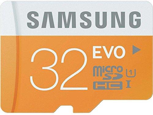 Samsung Carte Mémoire EVO Micro SD Classe 10 32 Go Avec adaptateur SD