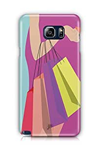 YuBingo Shopping Bags Mobile Case Back Cover for Samsung Note 5