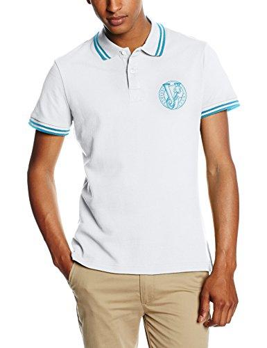 Versace Jeans - EB3GNB7P1_E36571, Maglietta da uomo, Bianco, 48