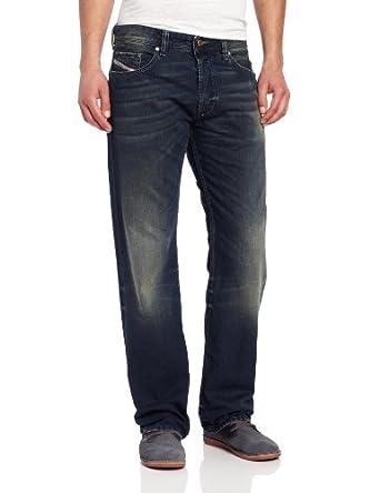 Diesel Men's Larkee Relaxed Regular Straight Leg Jean 0807U, Denim, 34