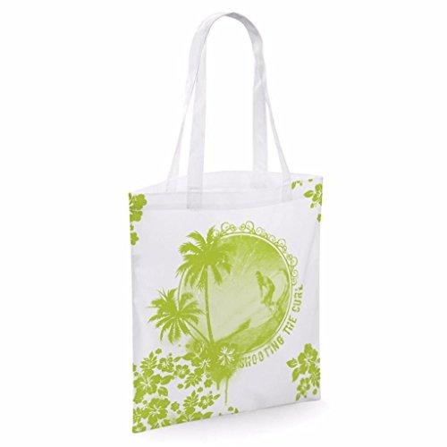 Tote bag pour femme Shooting The Curlimprimé sac épaule sacs en toile