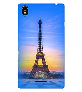 Fuson 3D Printed Designer back case cover for Sony Xperia T3 - D4550