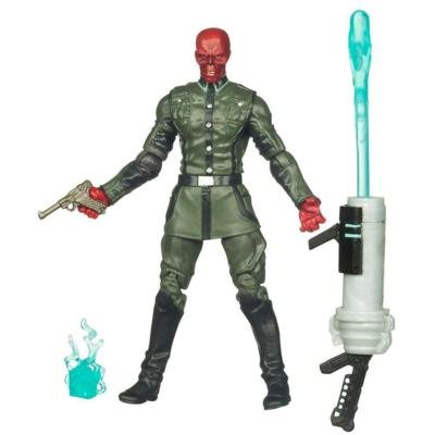 Captain America Movie 4 Inch Series 1 Action Figure Red Skull (Red Skull Figure compare prices)