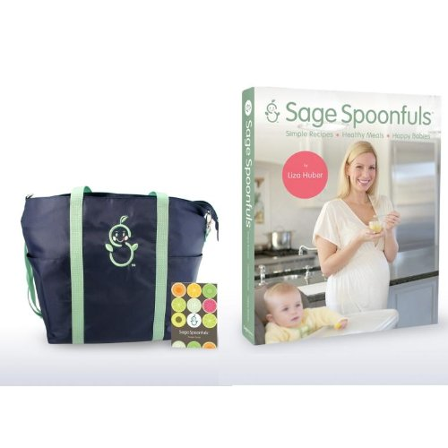 Sage Spoonfuls-Simple Recipes, Healthy Meals, Happy Babies And Sage Mommy Tote With Pocket Guide