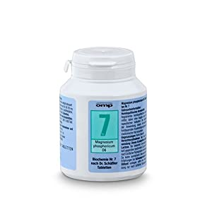 Schuessler Salz Nr. 7 - Magnesium phosphoricum D6 - 400 Stk. Tabl., Biochemie, glutenfrei