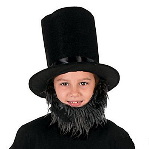 Child's Lincoln Costume Kit/2 pieces