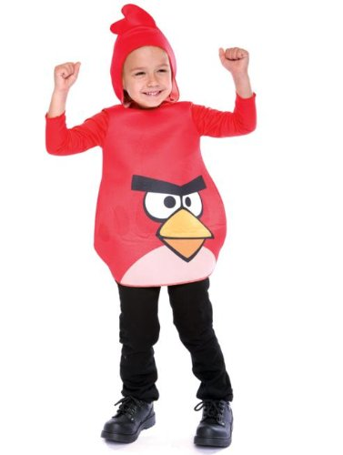 Angry Birds Red Bird Costume - 2T - 1