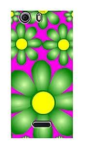 ZAPCASE PRINTED BACK COVER FOR MICROMAX NITRO 2 Multicolor