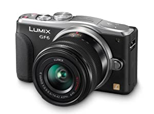 Panasonic DMC-GF6 16MP Mirrorless Compact System Camera with Lens Kit