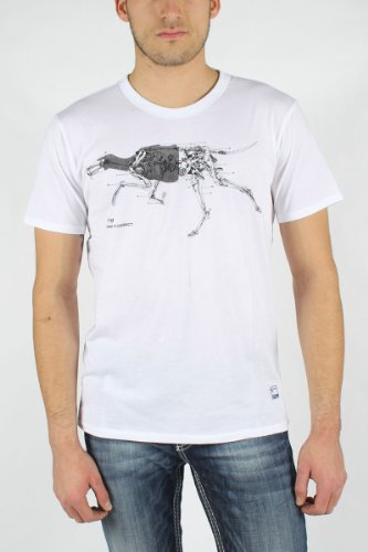 G-Star Raw - Mens RCT Grh T-Shirt in White, Size: XX-Large, Color: White