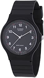 Casio MQ-24-1BLCK Mq24-1b 3-hand Analog Water Resistant Watch