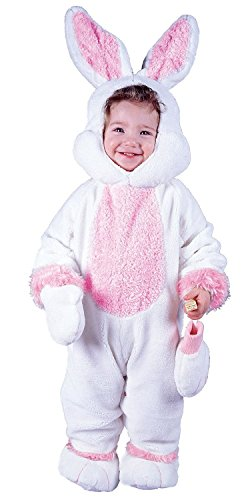 Cuddly Plush Bunny Costume