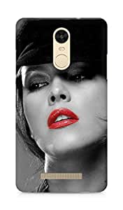 Amez designer printed 3d premium high quality back case cover for Xiaomi Redmi Note 3 (Beautiful Hot Girl)