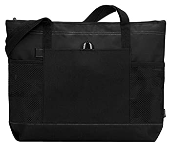 Gemline Select Zippered Tote Bag 1100