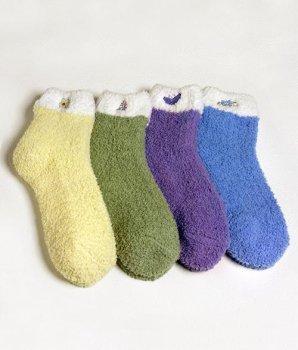 Cheap Karen Neuburger Super-Soft Embroidered Slipper Socks Accessory (B0002CX788)