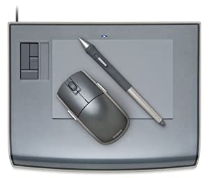 Wacom Intuos3 4 x 6-Inch Wide Format Pen Tablet (PTZ431W)