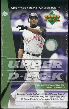 2004 Upper Deck Series 2 Baseball Hobby Box