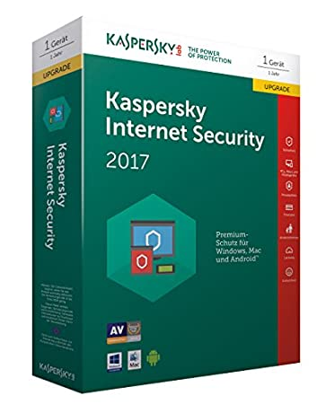 Kaspersky Internet Security 2017 Upgrade (Code in a Box)