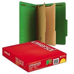 UNV10302 - Universal Pressboard Classification Folders