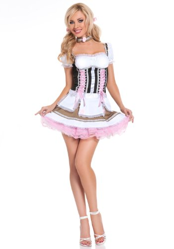 Heidi Ho - Bar Maid Holiday Party Costume