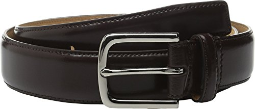 Cole Haan Men's 35 mm Feather Edge Spazzolotto Belt, Chocolate, 38 (Cole Haan Brown Belt compare prices)