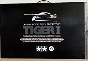 Tamiya 1/16 RC Tiger I with Full Option Kit