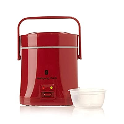 Wolfgang Puck Signature Perfect Portable Rice Cooker Red from Wolgang Puck