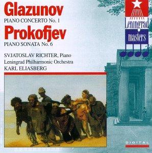 Glazunov: Piano Concerto No. 1 / Prokofiev: Piano Sonata No. 6