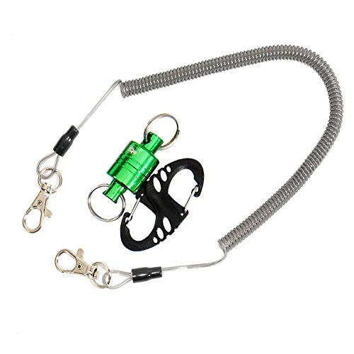 SF Fly Fishing Pliers Landing Trout Net Magnetic Release Holder with Cord 12 LB (Trout Fishing Net compare prices)