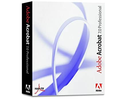 Adobe Acrobat 7.0 Professional Upgrade from Professional Version 6 (Mac) [Old Version]