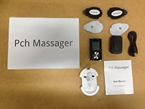 Pch2 Mini Massager Amazing 6 Pain Fighter Massage Modes +Massage Shoes+ear Clips As Seen At the Mall Come with Life Time Warranty