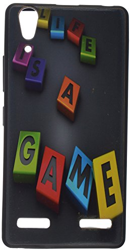 iCandy UV Printed Matte Finish Soft Back cover for Lenovo A6000 \ Lenovo A6000 PLUS -LOVEGAME  available at amazon for Rs.129