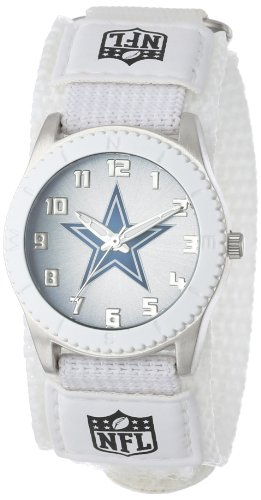 Game Time Mid-Size NFL-ROW-DAL Rookie Dallas Cowboys Rookie White Series Watch at Amazon.com