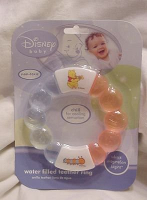 Disney Baby Water Filled Teething Ring - Random