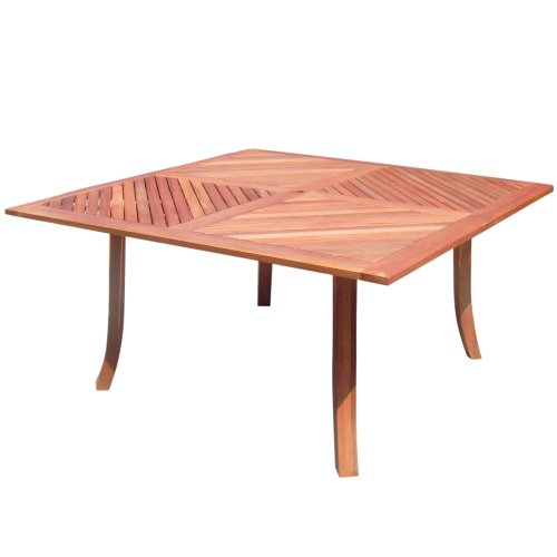 VIFAH V1131 Outdoor Wood Square Table image