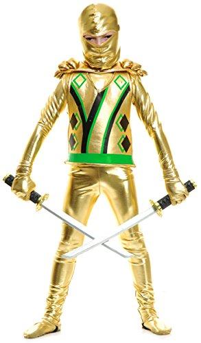 Gold Ninja Avengers Series III Costume