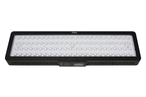 Ipower Alledxc300C Dimmable Remote Control Led Aquarium Grow Light With Automatic Day Cycle Simulation And Moonlight For Fish And Coral Reef, 300-Watt