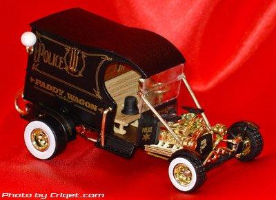 Tom Daniel's RAD RATZ 1:43 Diecast Old Skool Rat Rod - Paddy Wagon