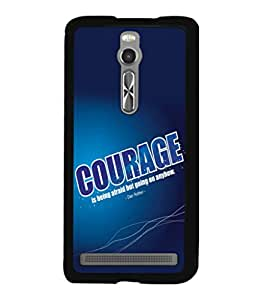 printtech Cool Quotes Success Back Case Cover for Asus Zenfone 2 , Asus Znfone 2 ZE550ML