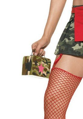 Camouflage Military Purse Holiday Costume Party Accessory