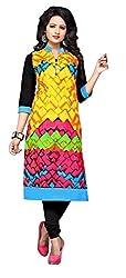 RR Fashion Women's Cotton KURTI (RRF3003_MULTICOLOUR)