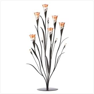Wedding Centerpiece Dawn Flower Candleholder Home Decor
